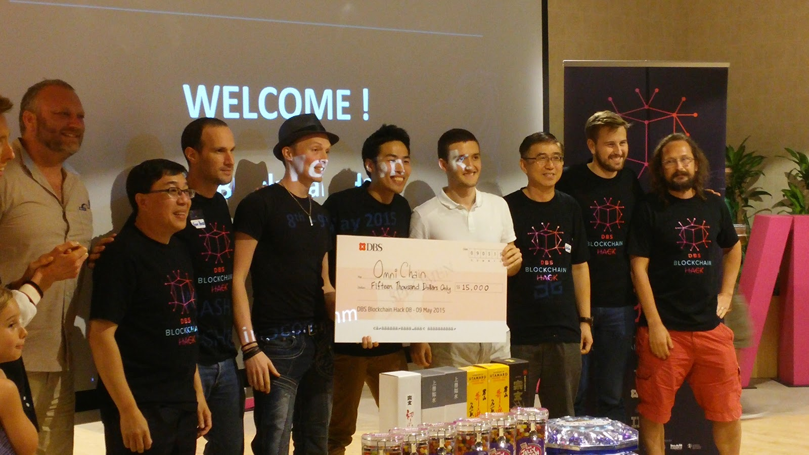 First place: OmniChain (accepting the 15.000$ prize).