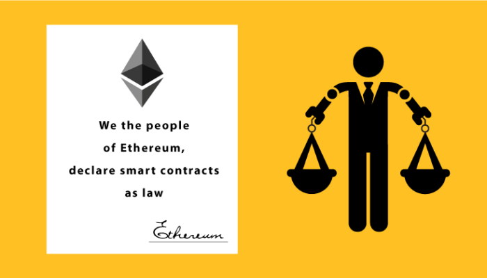 Ethereum is Law